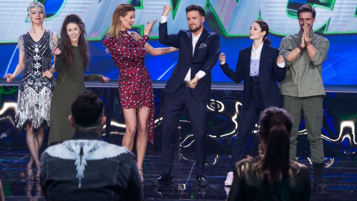Ten odcinek przyniósł wiele emocji i wzruszeń! Do finału przeszli Ania i Staszek oraz Roksana i Oliwia! (fot. TVP)