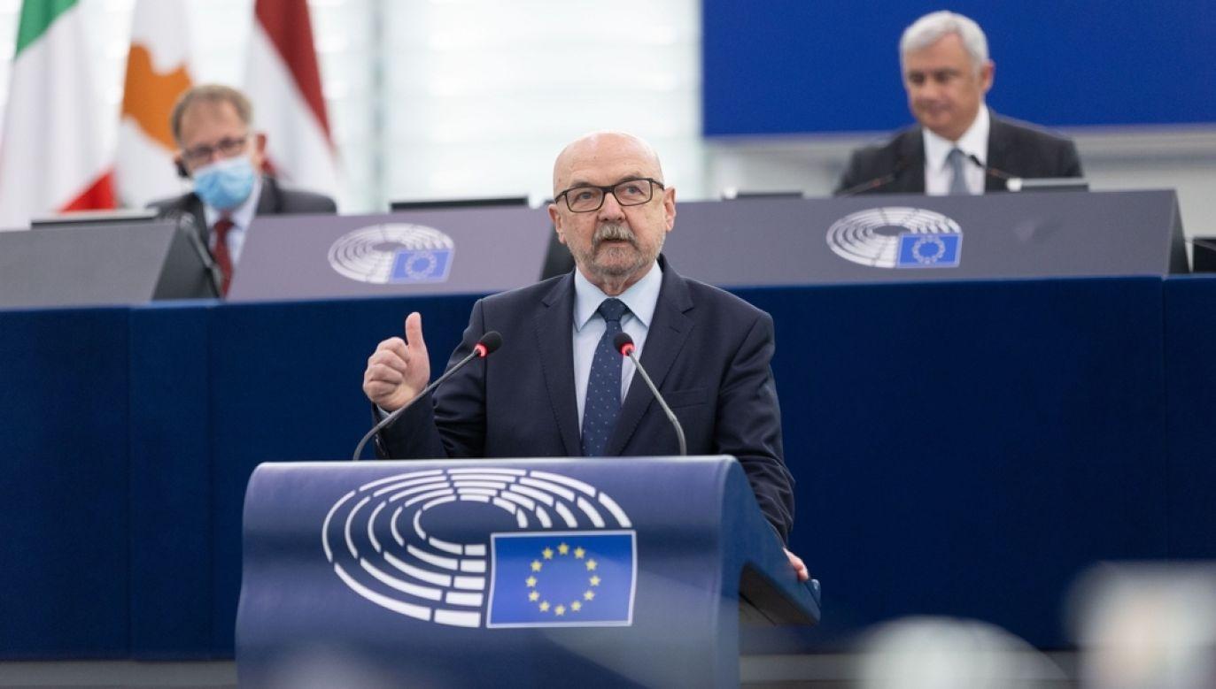 Prof. Ryszard Legutko (fot. Mathieux CUGNOT, European Union 2021 - EP)