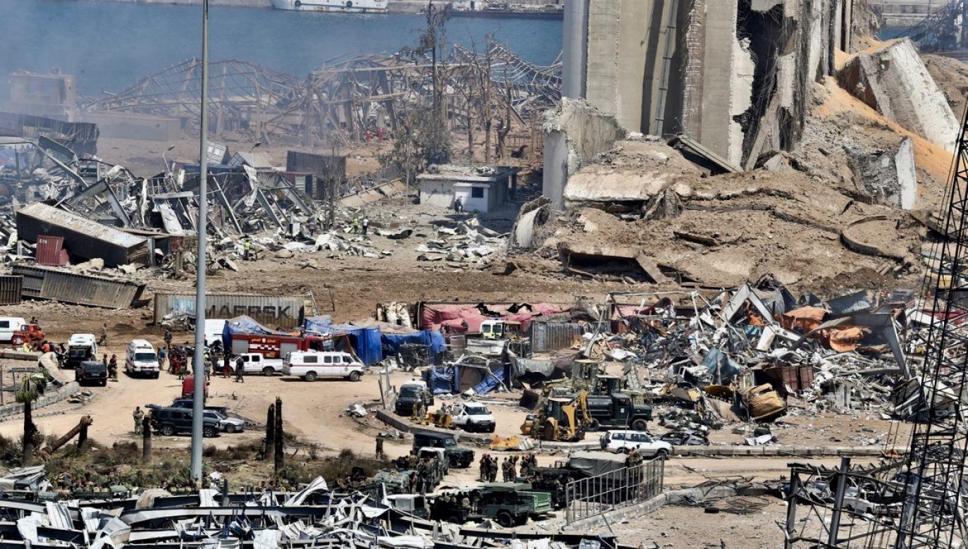 Przed południem pomoc zapowiedział premier Mateusz Morawiecki (fot. PAP/EPA/NABIL MOUNZER)