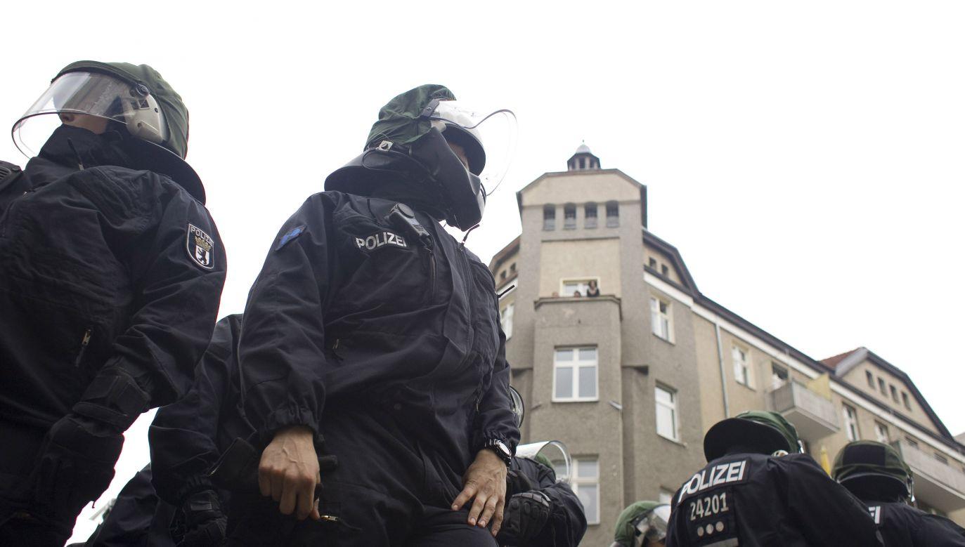 Policja poinformowała o zatrzymaniu podejrzanego mężczyzny (fot. Getty Images/Thielker/ullstein bild)