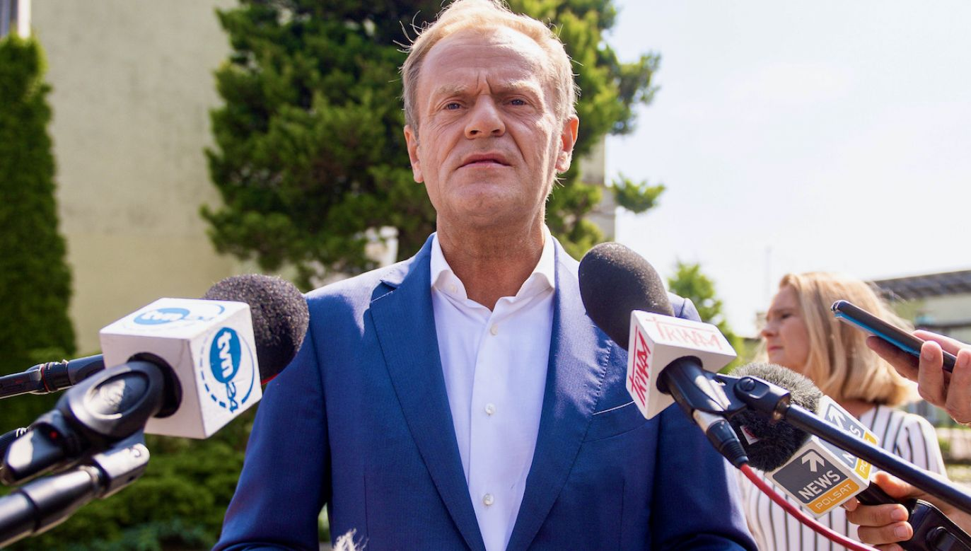 Donald Tusk (fot. M.Slodkowski/SOPA/LightRocket/Getty Images)