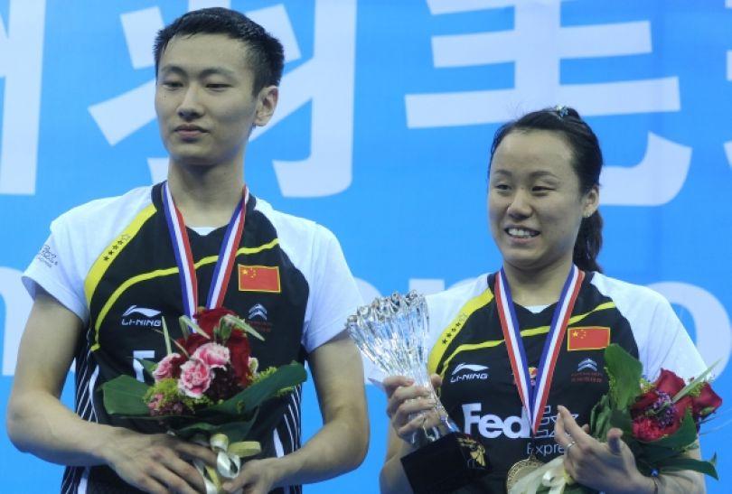 Chińczycy Zhang Nan i Zhao Yunlei - numer 1 światowego miksta (fot. Getty Images)