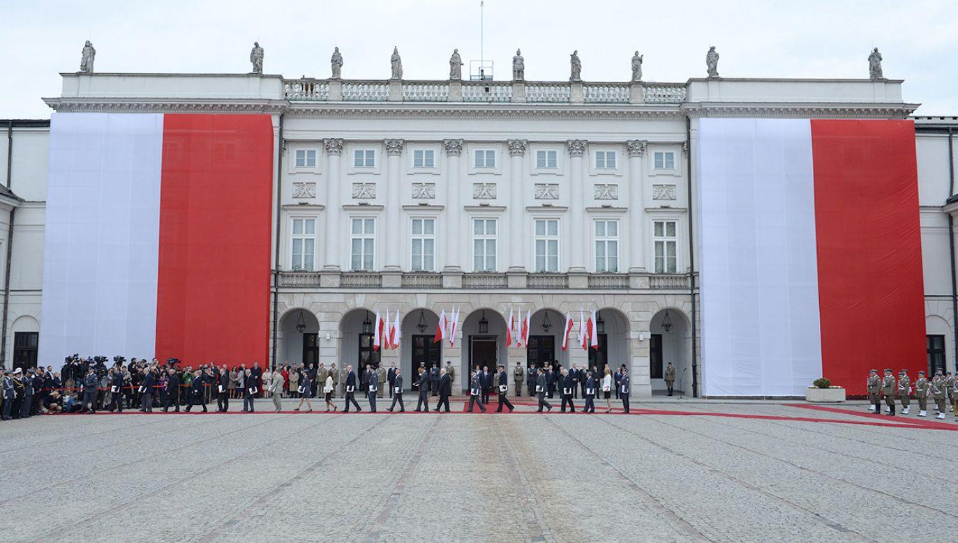 Zaplanowana na piątek uroczystość odbędzie się w Pałacu Prezydenckim (fot. arch.PAP/Jacek Turczyk)