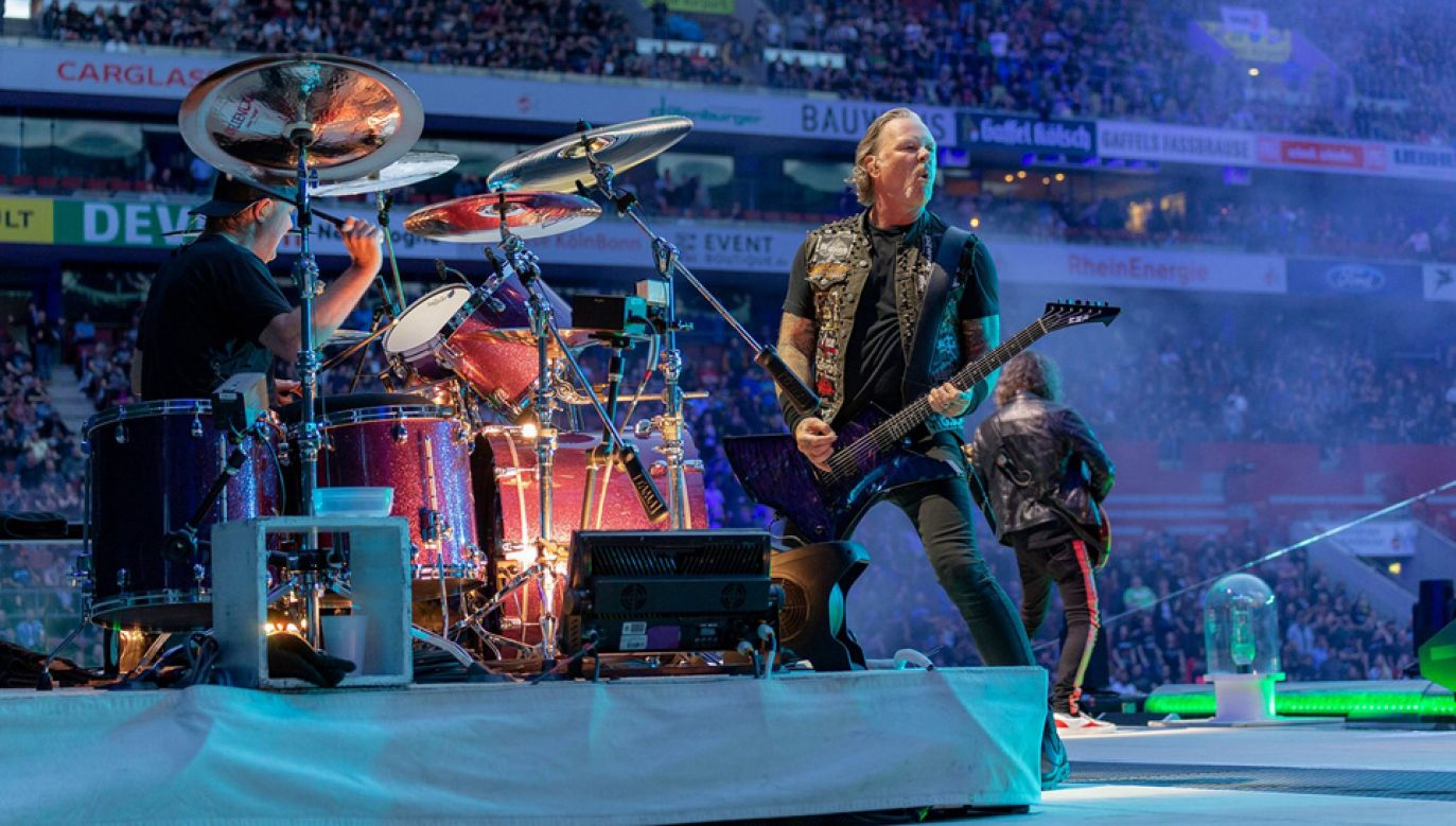 James Hetfield od dawna zmaga się z uzależnieniem od alkoholu (fot. TT/Metallica)