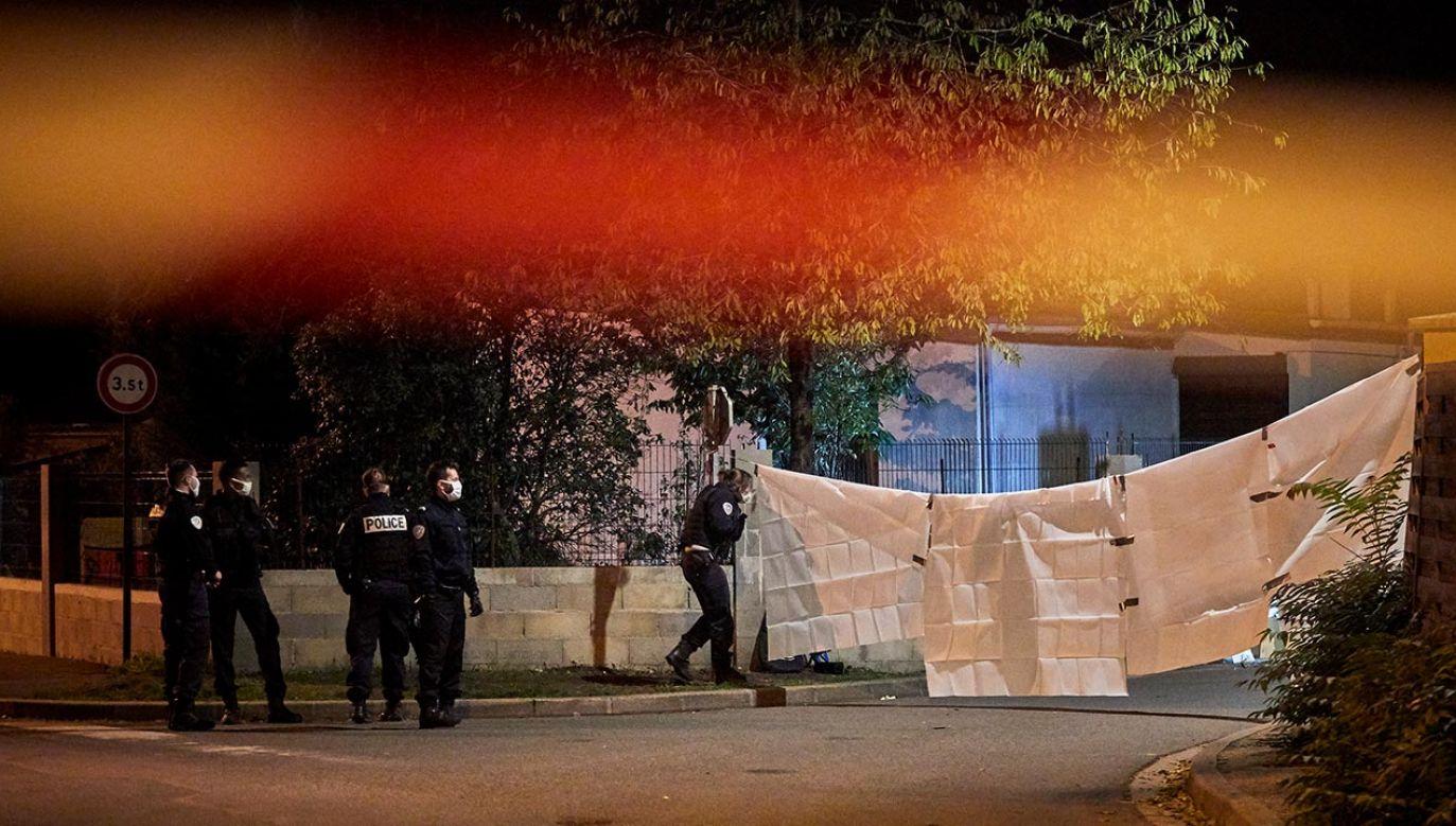 Mężczyzna zamordował nauczyciela, który pokazał karykatury Mahometa (fot. Kiran Ridley/Getty Images)