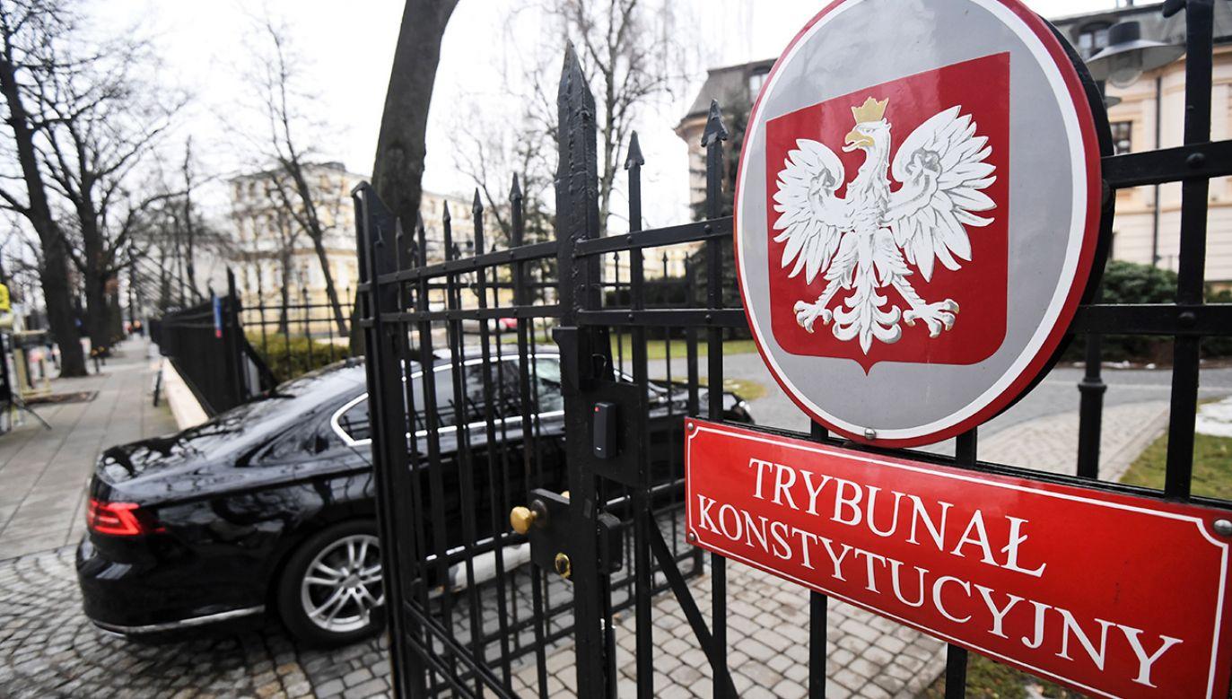 Sędziowie Izby chcą, by Trybunał Konstytucyjny wstrzymał też m.in. posiedzenie trzech izb SN 23 stycznia (fot. arch. PAP/Bartłomiej Zborowski)