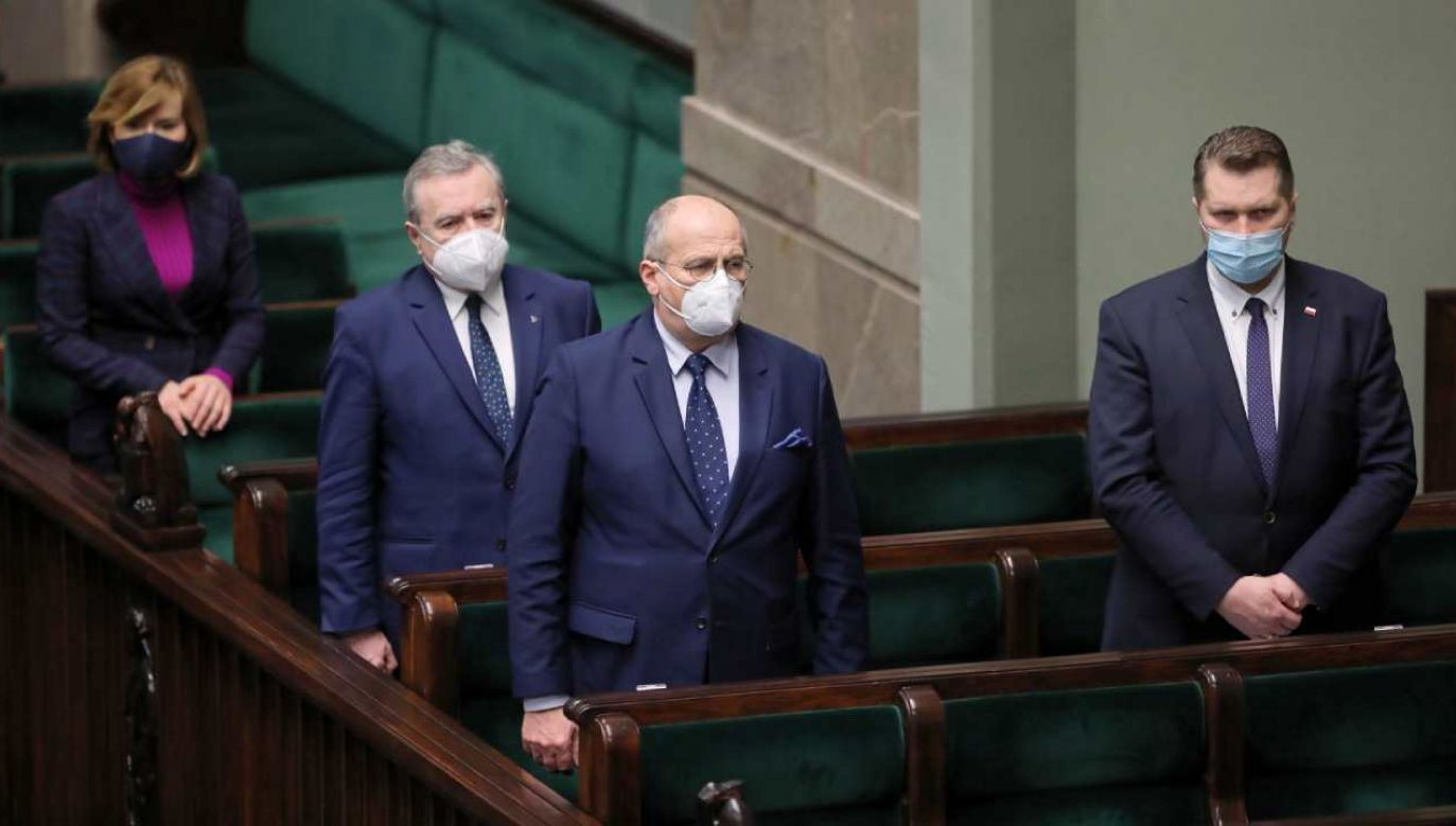 Szef MSZ Zbigniew Rau (Fot.PAP/Wojciech Olkuśnik)