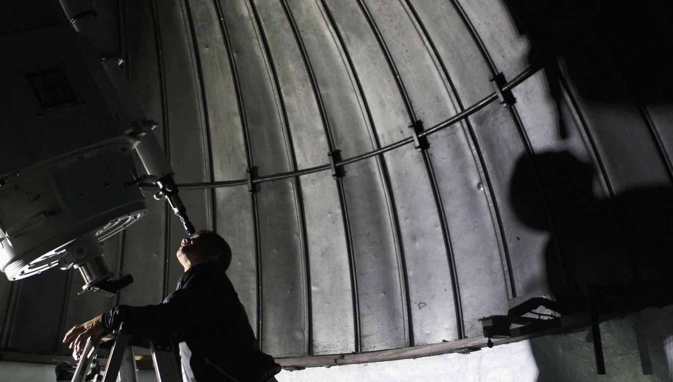 Polska jest jednym z krajów z grona założycieli Międzynarodowej Olimpiady z Astronomii i Astrofizyki (fot. REUTERS/Cheryl Ravelo; zdjęcie ilustracyjne)