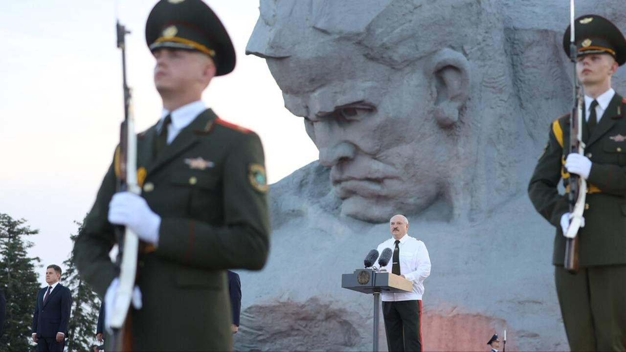 Prezydent Białorusi Aleksandr Łukaszenka (fot. President.gov.by)