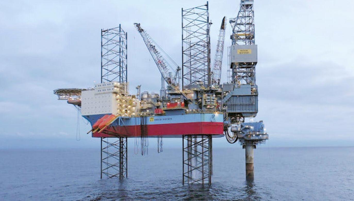 Wydobycie ropy ze złoża Yme (fot. Facebook/Grupa LOTOS)