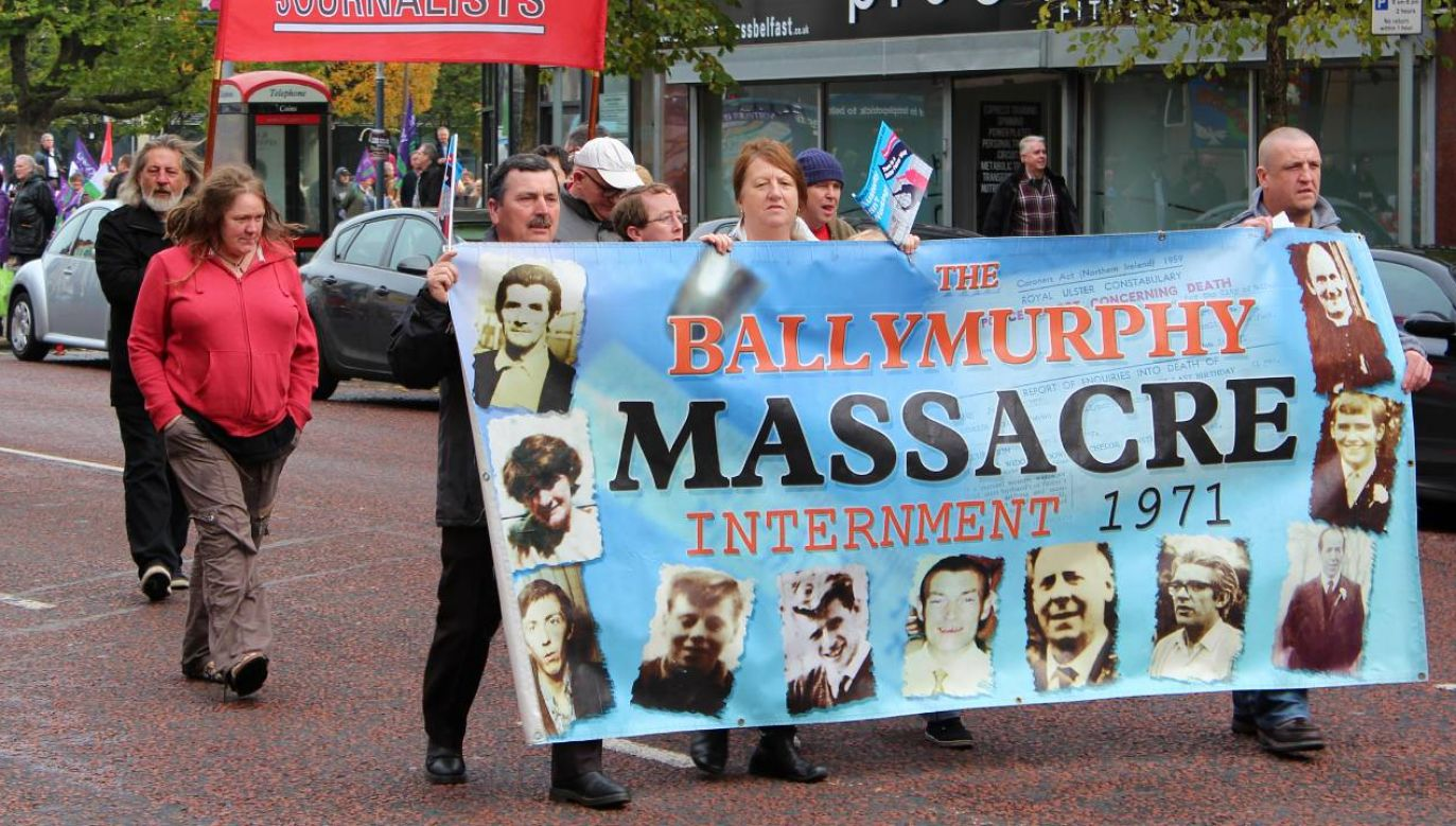 Bliscy ofiar niemal pół wieku czekali na prawdę o masakrze w Ballymurphy (fot. Wiki 3.0/Ardfern)