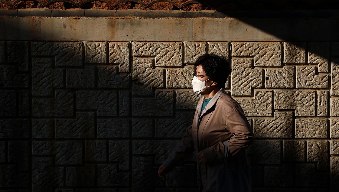 Od początku epidemii zmarły w Korei Płd. 174 osoby (fot. Chung Sung-Jun/Getty Images)