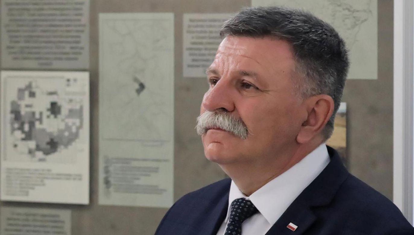 Polityk poinformował, jakie ma objawy (fot. PAP/Tomasz Gzell)