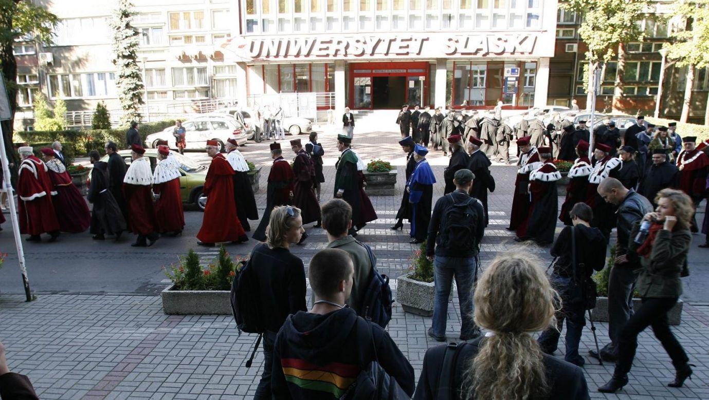 Inauguracja roku akademickiego na Uniwersytecie Śląskim. Fot. PAP/ Andrzej Grygiel