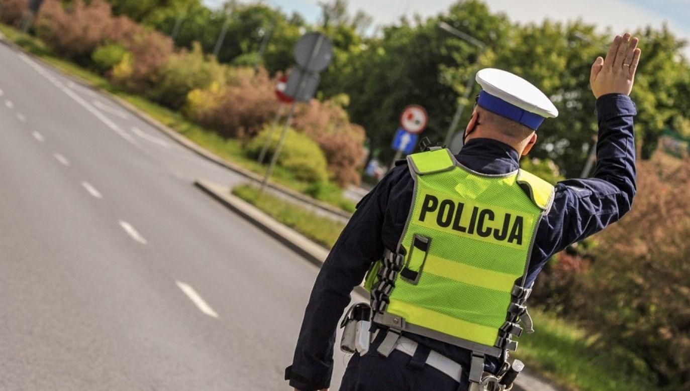 Niebezpieczna sytuacja miała miejsce na autostradzie A4 (fot. policja.pl, zdjęcie ilustracyjne)