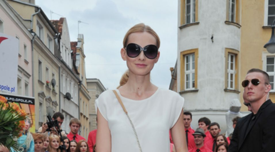 Aktorka nie kryła radości, że przyczyniła się do podtrzymania pamięci o Annie German (fot. I. Sobieszczuk/TVP)