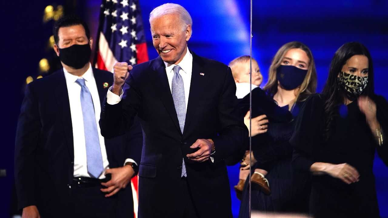 Joe Biden szykuje się do objęcia funkcji prezydenta (fot. PAP/EPA/JIM LO SCALZO)