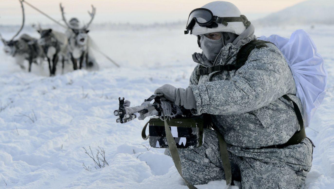Kreml chce umocnić swą pozycję w Arktyce (fot. L.Fedoseyev\TASS\Getty Images)