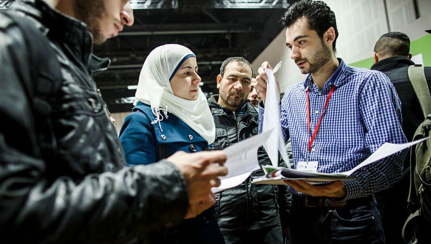 Od 2011 do Niemiec uciekło około 780 tys. Syryjczyków (fot. Carsten Koall/Getty Images)