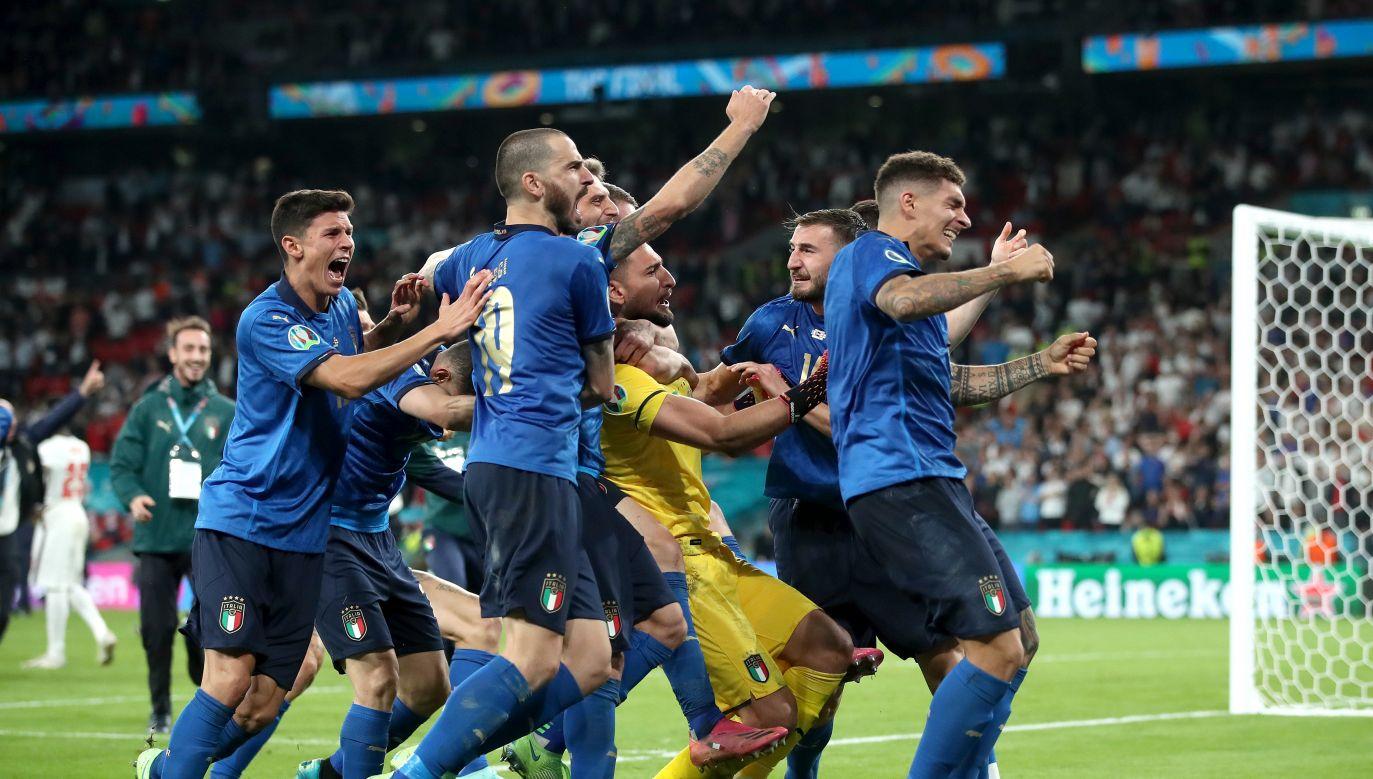 Piłkarze reprezentacji Włoch (fot. Getty Images)