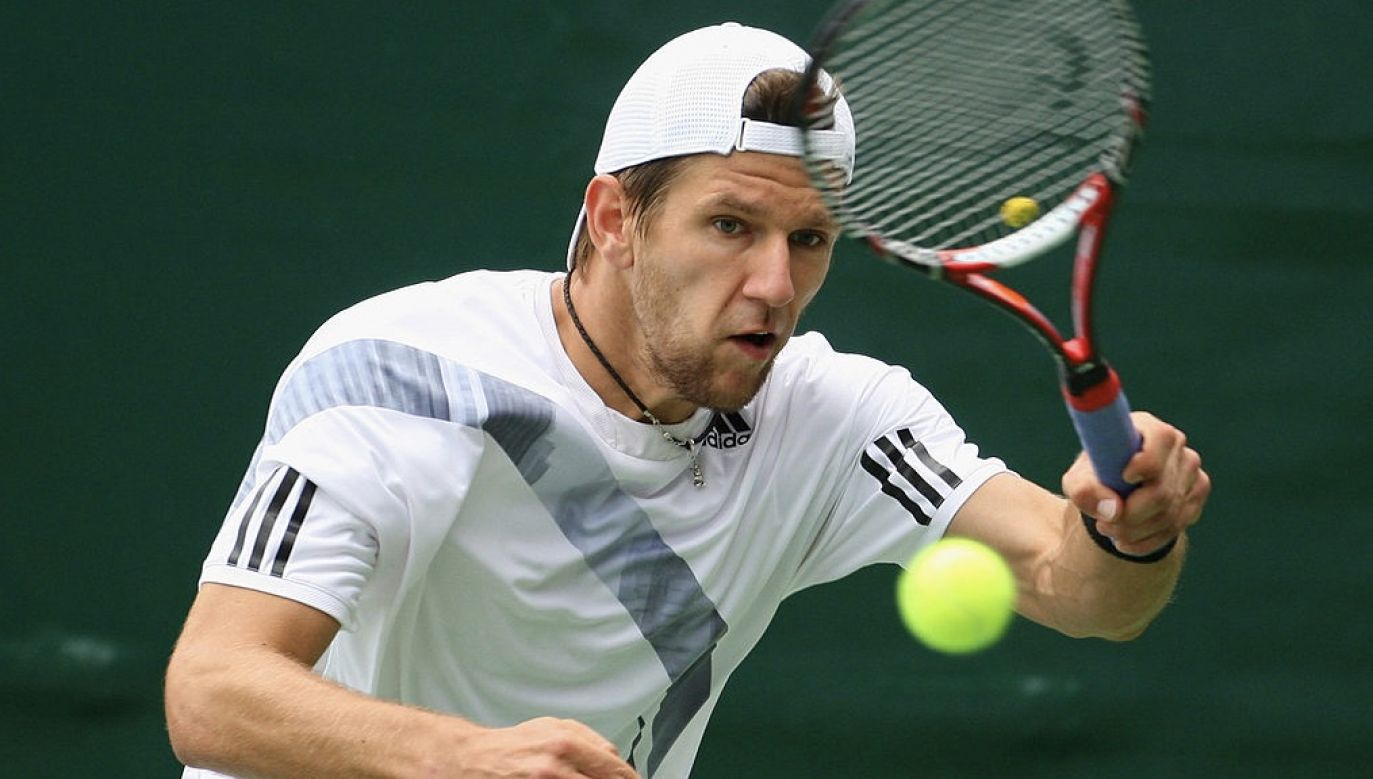 Melzer wciąż jeszcze występuje w turniejach (fot. Phil Walter/Getty Images)