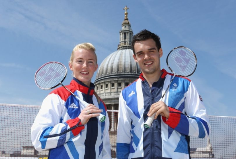 Imogen Bankier i Chris Adcock (fot. Getty Images)