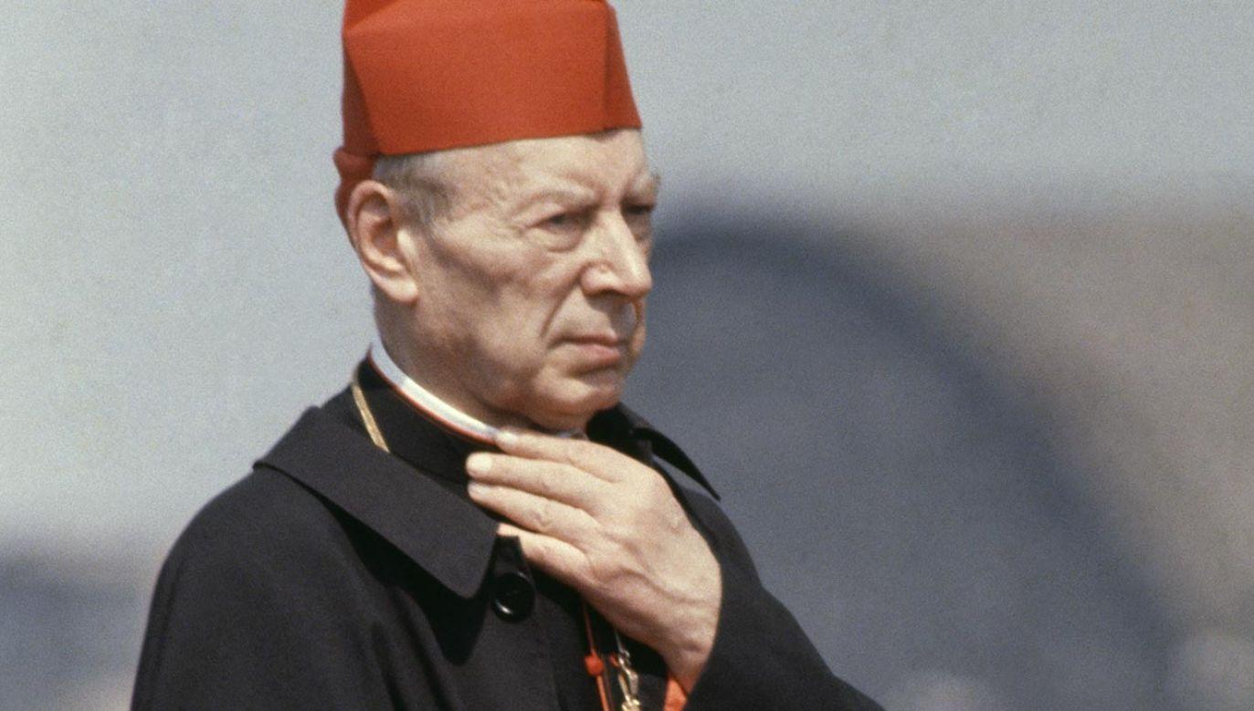 Kardynał Stefan Wyszyński (fot. Francois LOCHON/Gamma-Rapho via Getty Images)