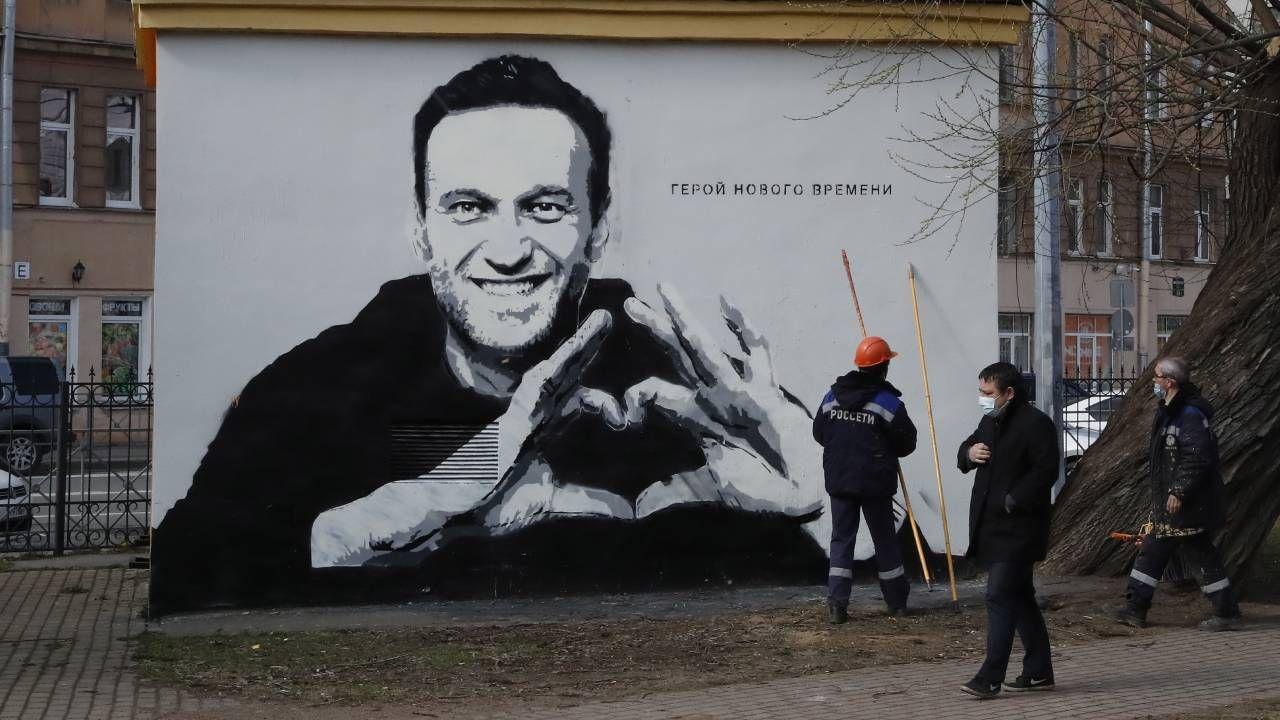 Aleksiej Nawalny przebywa w kolonii karnej (fot. PAP/EPA/ANATOLY MALTSEV)
