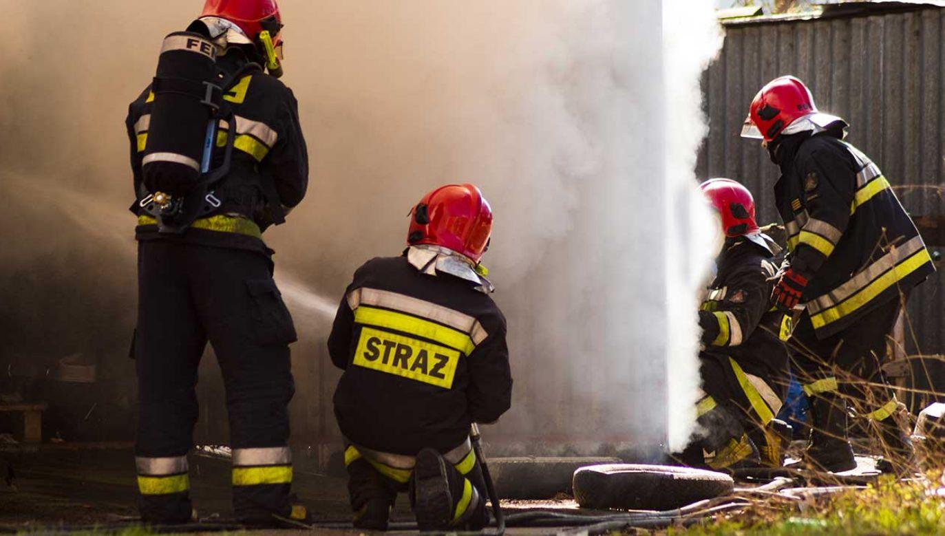 28–latek był członkiem Ochotniczej Straży Pożarnej (fot. Shutterstock/Mike Mareen)