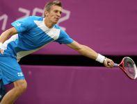 W drugiej rundzie Murray wygrał z Jarkko Nieminenem z Finlandii (fot. Getty Images)