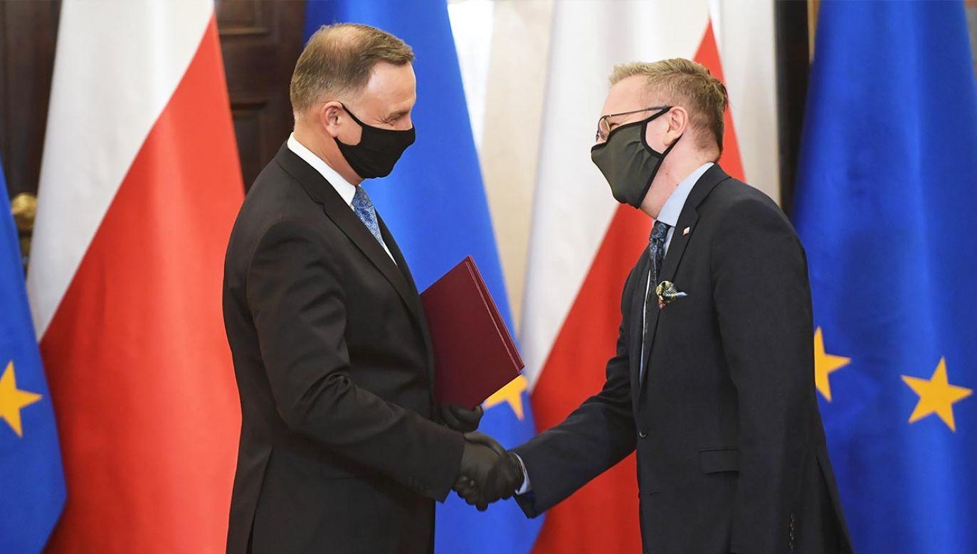 Prezydent zainaugurował działalność Biura Polityki Międzynarodowej (fot. PAP/Marcin Obara)