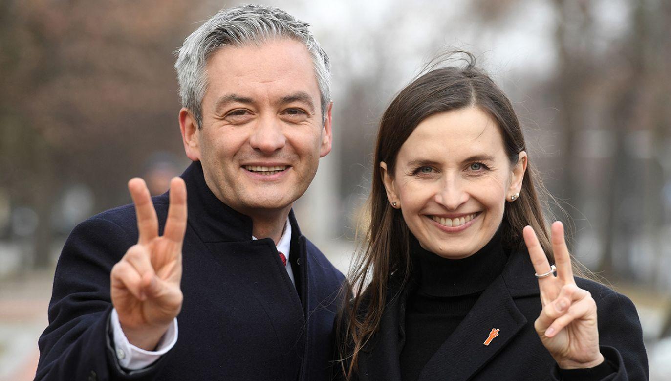 Sylwia Spurek zdobyła mandat europosła z listy Wiosny Roberta Biedronia. (fot. arch. PAP/Piotr Nowak)