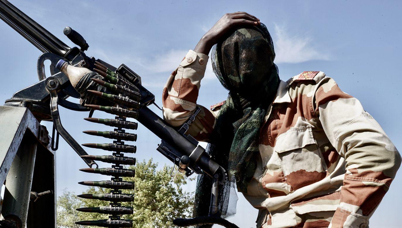 Żołnierz nigeryjskiej armii (fot. Giles Clarke/Getty Images)