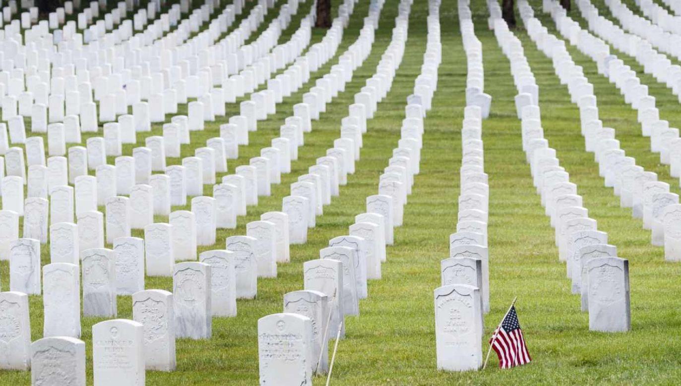 W USA nie odbędą się doroczne obchody Dnia Pamięci (Memorial Day)  (fot. PAP/EPA/JUSTIN LANE)