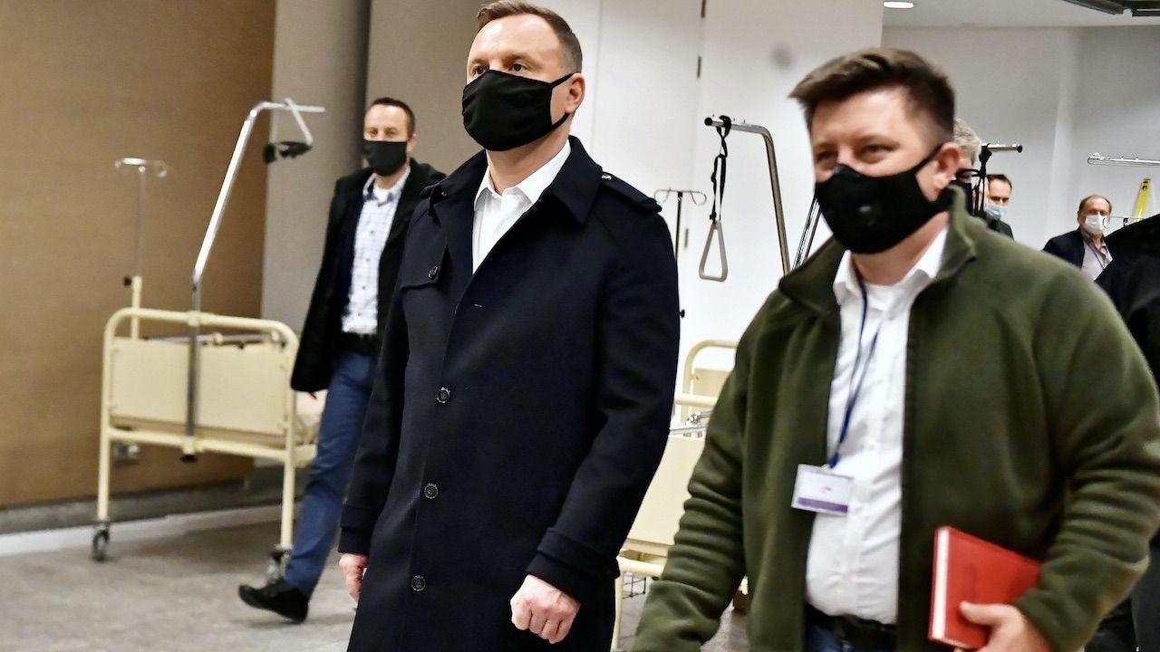 Andrzej Duda skomentował rosyjski cyberatak na skrzynkę szefa KPRM (fot.arch.PAP/Andrzej Lange)