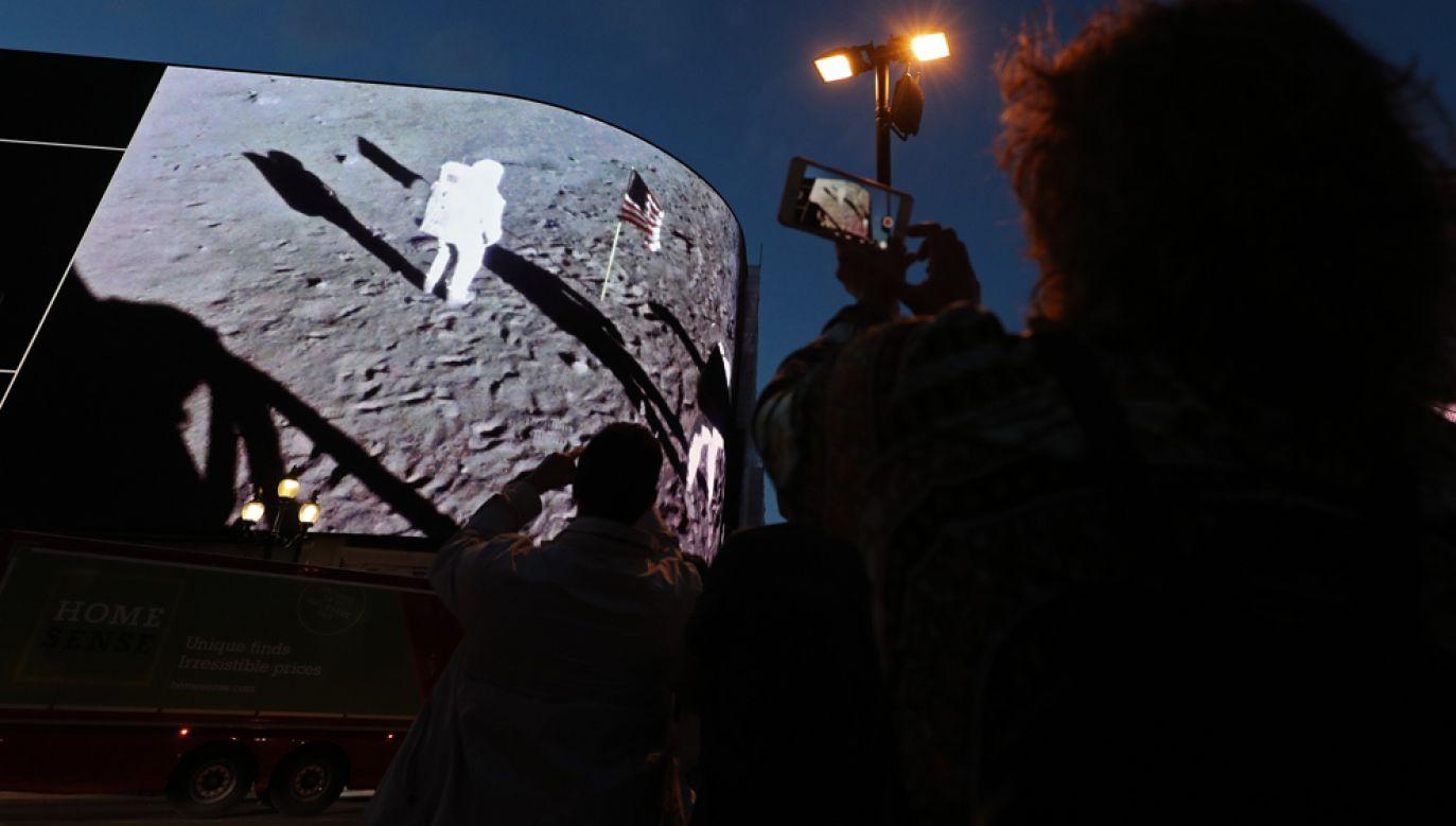 Amerykanie obchodzą 50. rocznicę lądowania Apollo 11 na Księżycu (fot. Yui Mok/PA Images via Getty Images)
