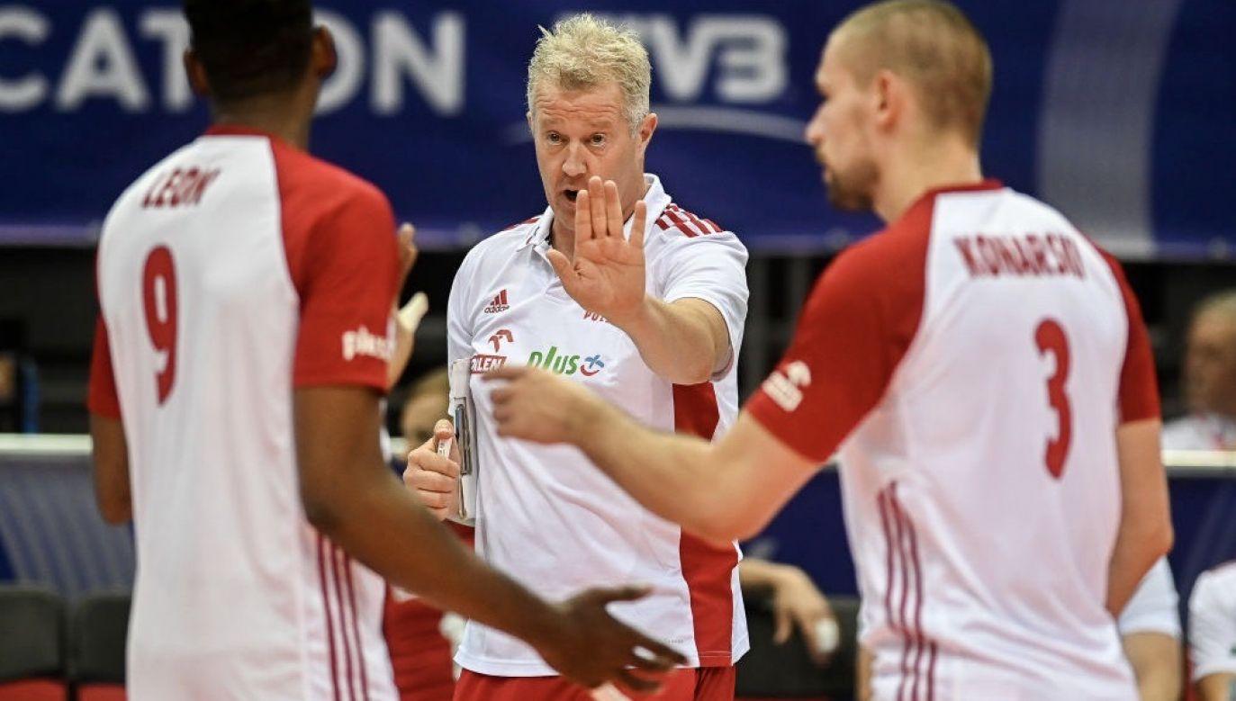 Vital Heynen jest trenerem reprezentacji Polski od dwóch lat (fot. Mateusz Slodkowski/SOPA Images/LightRocket via Getty Images)