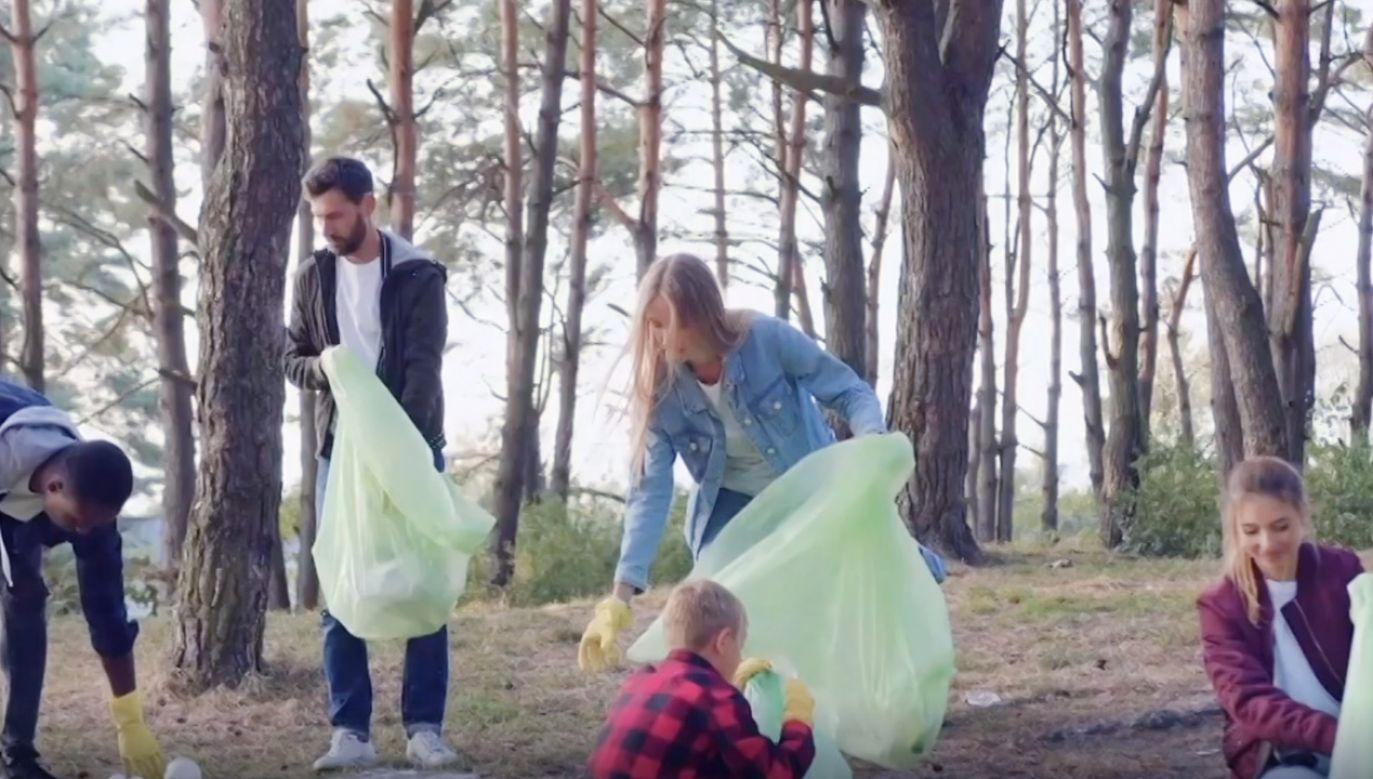Polacy włączają się w działania na rzecz środowiska (fot.YouTube/portal tvp.info)
