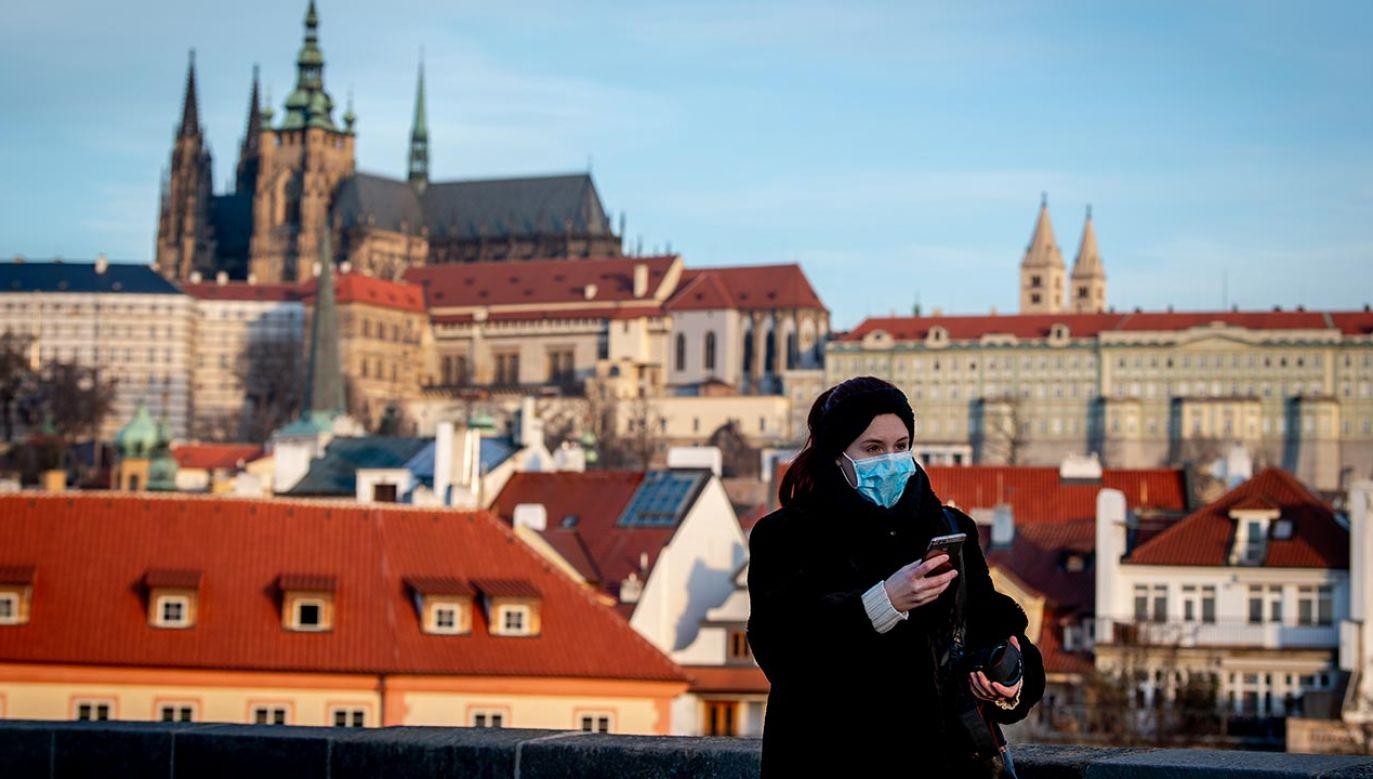 W Czechach odnotowano 5033 zakażeń koronawirusem (fot. Lukas Kabon/Anadolu Agency via Getty Images)