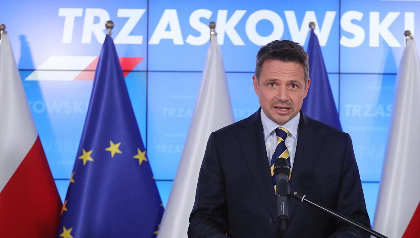 Trzaskowski straszy atakiem na samorządy przez obecną władzę (fot. PAP/Paweł Supernak)