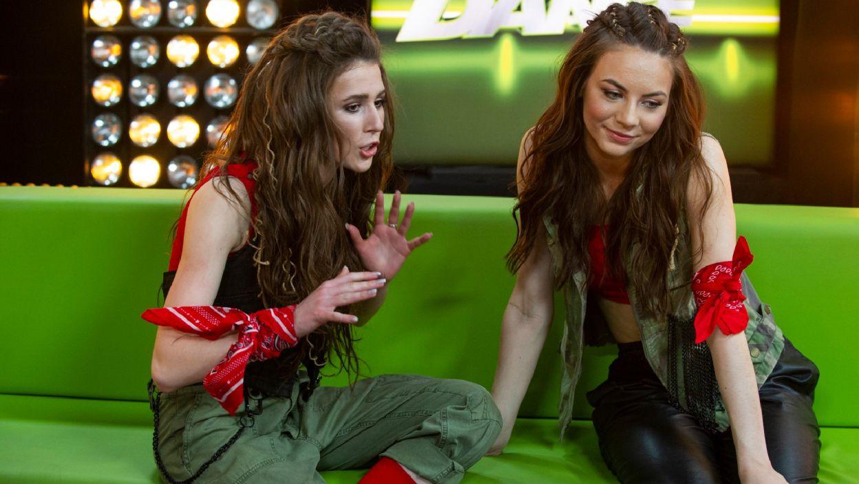 Roxie i Oliwka wkroczyły na scenę, by zaprezentować taneczną rewolucję (Natasza Mludzik/ fot. TVP)