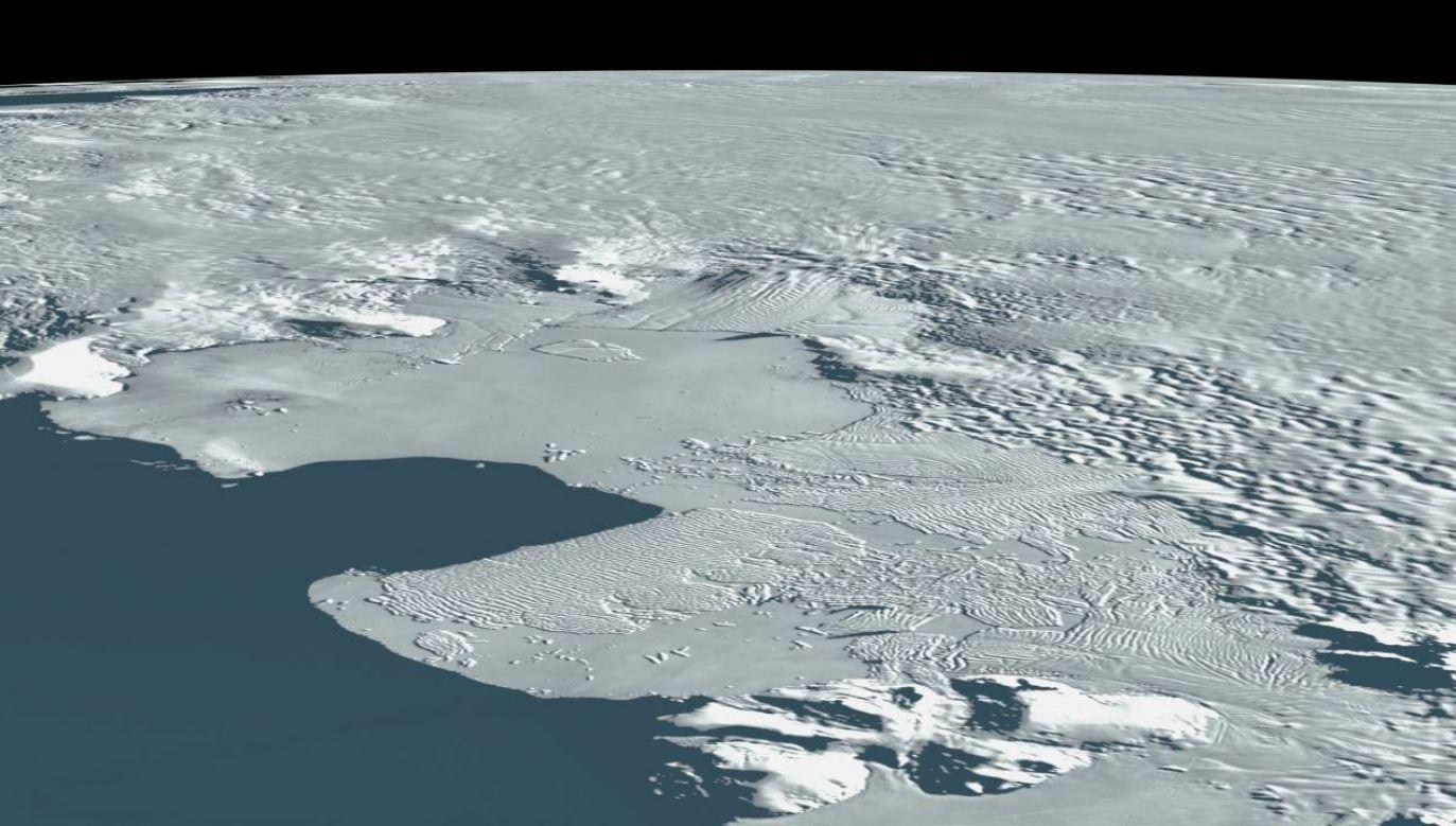 Deszcze stanowią zagrożenie dla Antarktydy (fot. NASA)