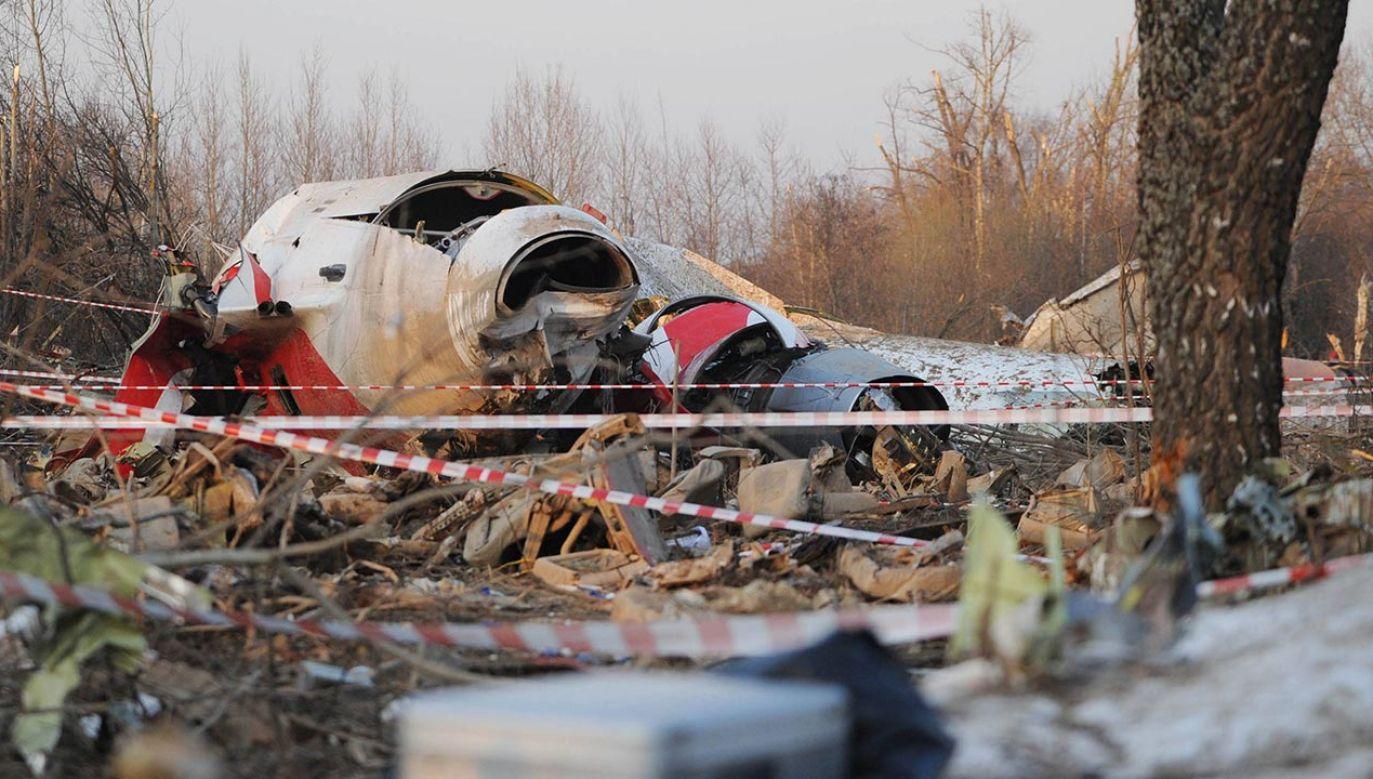 10 kwietnia 2010 r. doszło do katastrofy samolotu wiozącego delegację na uroczystości 70. rocznicy zbrodni katyńskiej (fot. PAP/ITAR-TASS/ Maxim Shemetov)