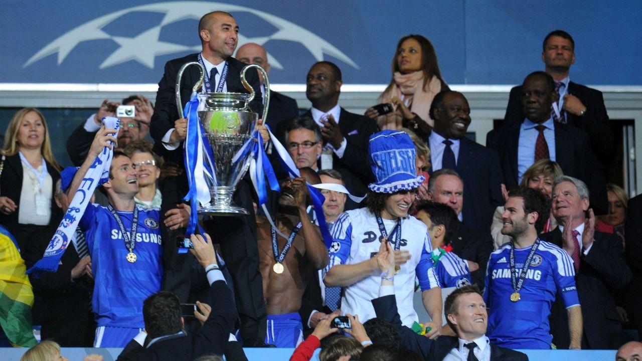 Liga Mistrzów. Chelsea w finale Ligi Mistrzów. Po raz trzeci z trenerem, który przyszedł w trakcie sezonu. Thomas Tuchel jak Grant i di Matteo (TVPSPORT.PL) (sport.tvp.pl)