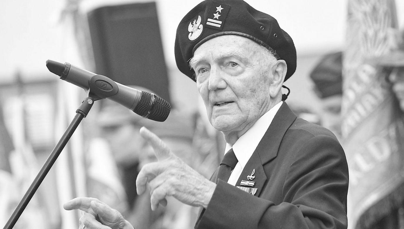 W wieku 91 lat odszedł prof. płk Jerzy Majkowski (fot. arch.PAP/Marcin Obara)
