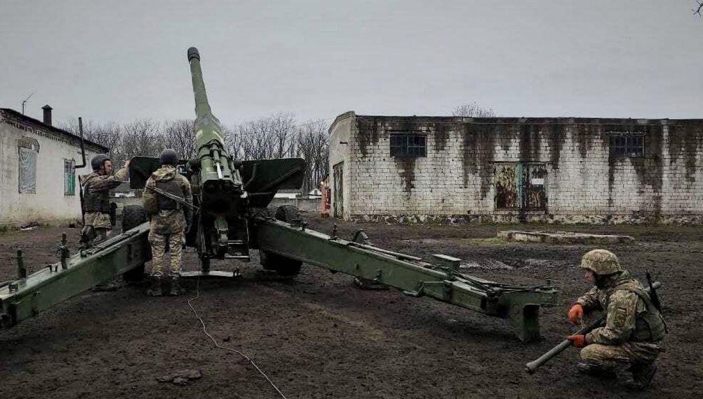Rosja próbuje jeszcze bardziej naruszyć integralność terytorialną Ukrainy (fot. Armed Forces of Ukraine/Anadolu/Getty Images)