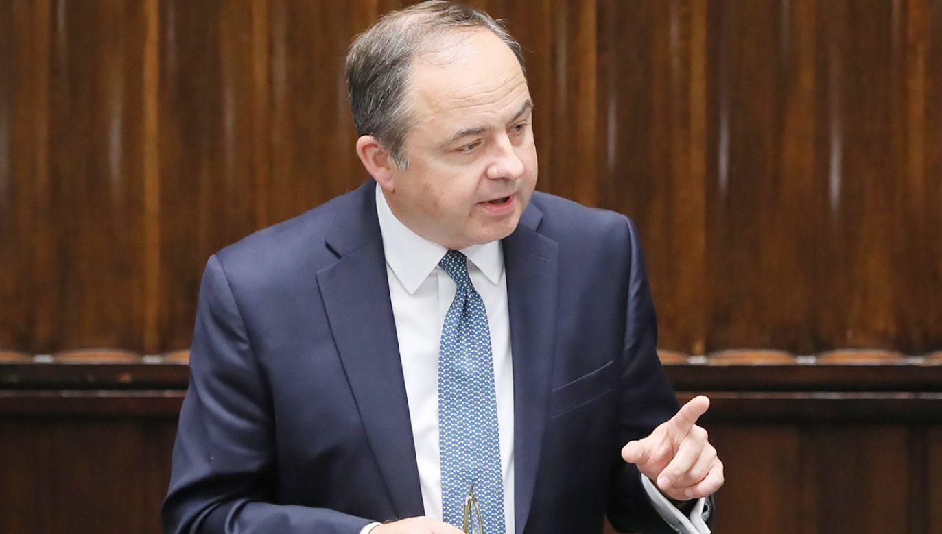 Minister Konrad Szymański podkreślił, że nie mają co do tego żadnych wątpliwości także służby prawne rady UE (fot.  PAP/Paweł Supernak)