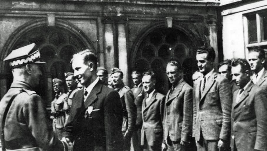 W Briggens House szkolenie przechodzili także Cichociemni (fot. NAC)