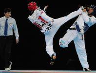 128 zawodników i zawodniczek wystąpi w zawodach taekwondo w IO (fot. Getty Images)
