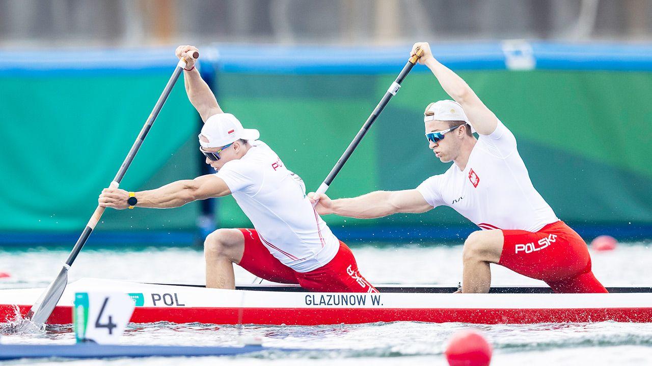 Wiktor Głazunow i Tomasz Barniak wywalczyli w Danii srebrne medale (fot. Getty Images)